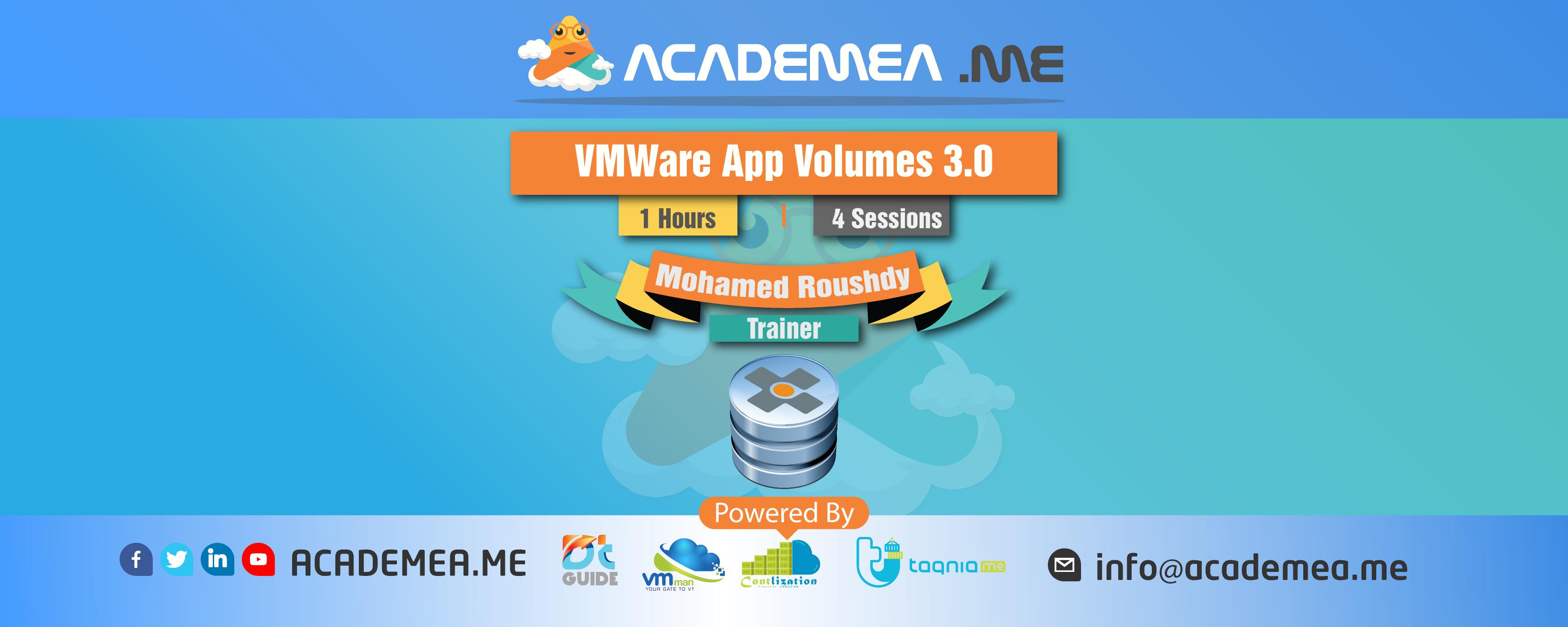 VMWare App Volumes 3.0