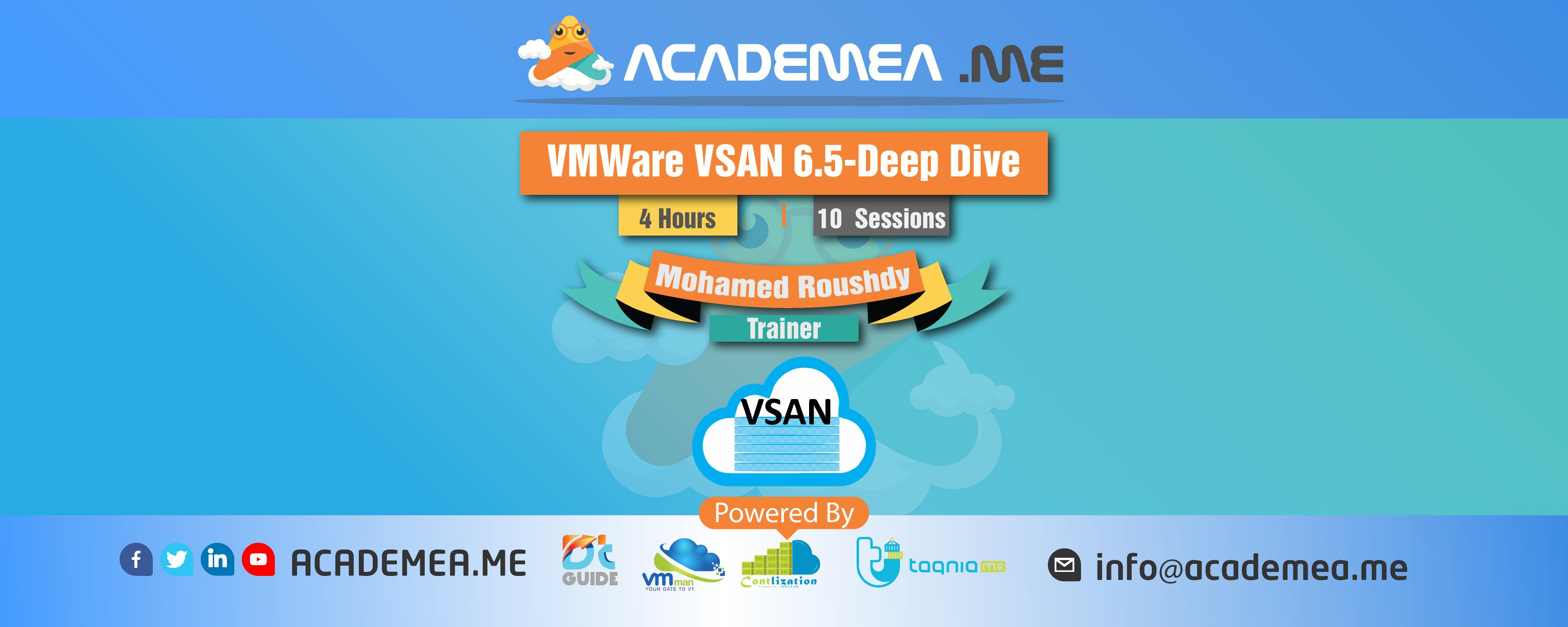 VMWare VSAN 6.5-Deep Dive